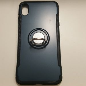 "unbranded Accessories - Case for iphone xs max 6.5"" black-darkblue new"